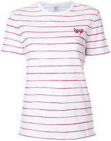 Zoe Karssen striped T-shirt - women - Cotton/Linen/Flax - XS