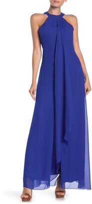Meghan La Aphrodite Sleeveless Maxi Dress