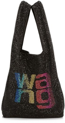 Alexander Wang Mini Wangloc Rhinestone Shopper
