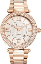 Freelook Unisex HA1542MRG-9 Cortina XL Oversized Analog Rose Gold Plated Roman Numeral Dial Watch