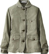 Uniqlo Women Idlf Cotton Coverall Jacket