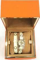 Tory Burch Women's Reva Mini 20mm Leather Band Steel Case Quartz Watch TRB4015