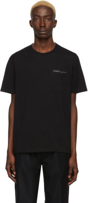 Givenchy Black Fused Tape T-Shirt