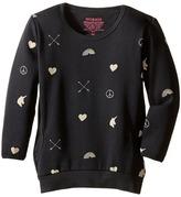Munster Love Arrow Sweatshirt (Toddler/Little Kids/Big Kids)