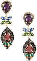 Cezanne Crystal Cluster Drop Earrings