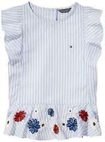 Tommy Hilfiger TH Kids Floral Stripe Top
