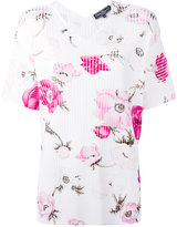 Salvatore Ferragamo floral blouse - women - Polyester/Viscose - M