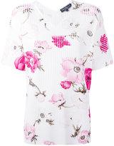 Salvatore Ferragamo floral blouse - women - Polyester/Viscose - S