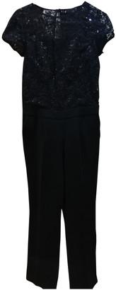 S'Oliver Black Polyester Jumpsuits