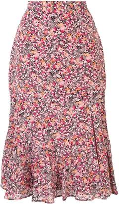 Altuzarra Clementine asymmetric slip skirt