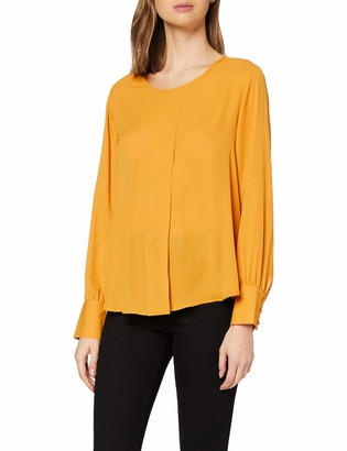 Scotch & Soda Women's Top with Pleat Detail Blouse