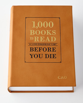 """Graphic Image Personalized """"1,000 Books to Read Before You Die"""" Book"""