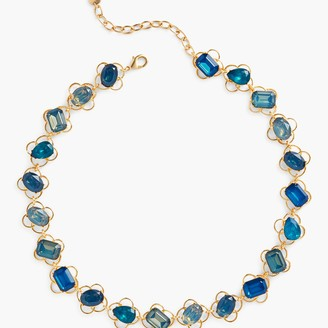Talbots Mixed Gem Necklace