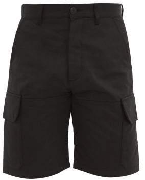 eye/LOEWE/nature Cotton-twill Cargo Shorts - Mens - Black