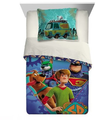 Scooby-Doo SCOOB! 2-Piece Comforter and Sham Set, Kids Bedding, Twin/Full