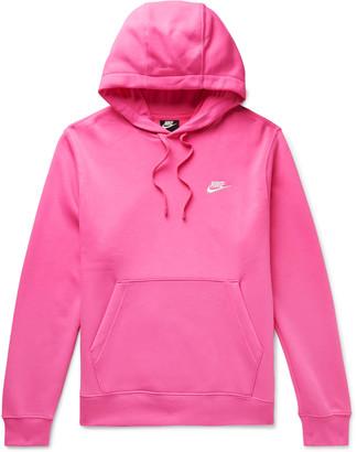 Nike Sportswear Club Fleece-Back Cotton-Blend Jersey Hoodie