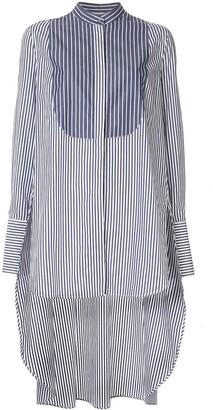 Monse Typewriter stripe shirt