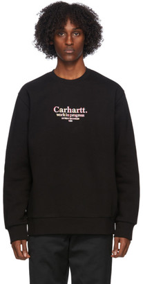 Carhartt Work In Progress Black Commission Sweatshirt