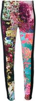 A.F.Vandevorst floral panel leggings - women - Silk/Spandex/Elastane - S