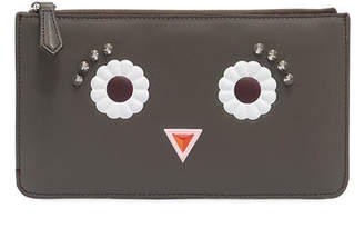 Fendi Coin Purse Faces Black
