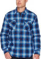 Big Mac Sherpa linedt Shirt Jacket - Big & Tall