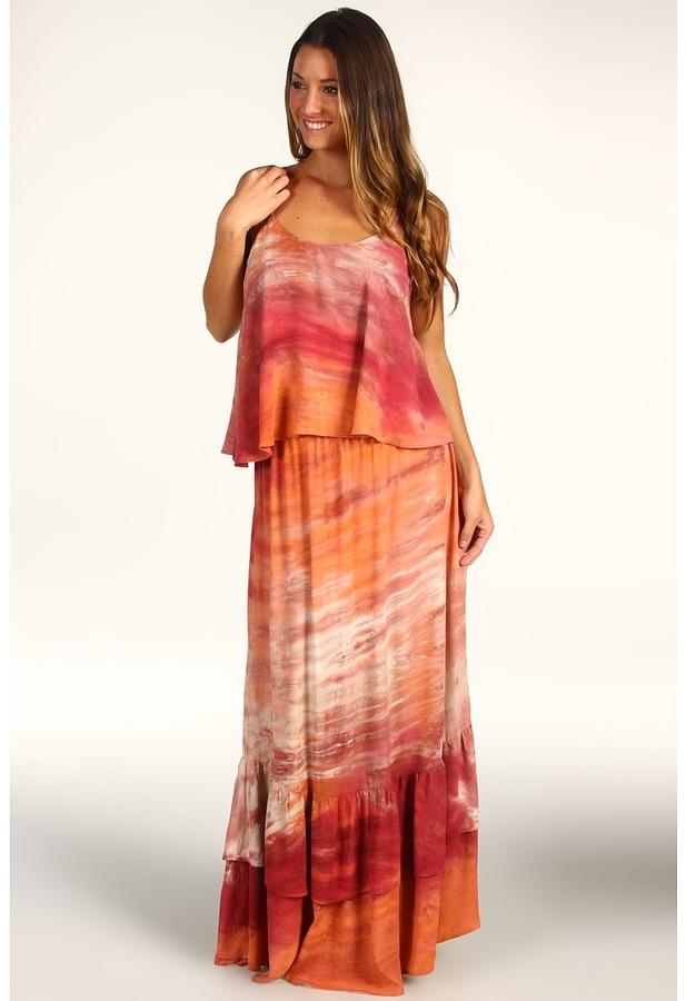 Patterson J. Kincaid Mason Maxi (Summer Sunset Tie Dye) - Apparel