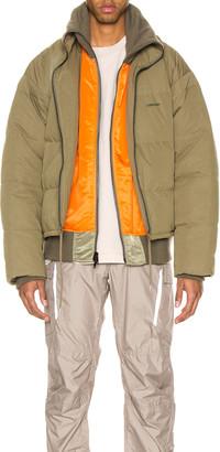 Ambush Padded Reversible Jacket in Olive | FWRD