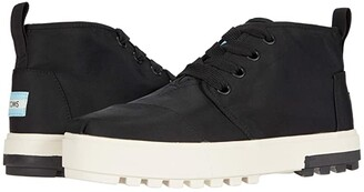 Toms Botas Lug Sneaker (Black Utility Twill) Women's Shoes
