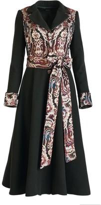 Matsour'i Wool Cashmere Coat Elea