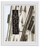 Pottery Barn Montmartre-Amour Framed Print by Rebecca Plotnick