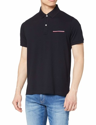 Tommy Hilfiger Men's Pocket Detail Slim Polo Shirt