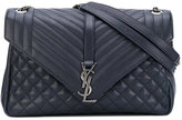 Saint Laurent quilted Monogram bag - women - Leather - One Size