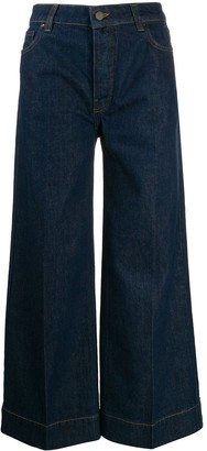 Victoria Victoria Beckham Mid Rise Flared Jeans
