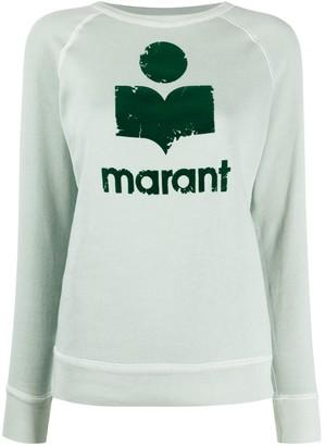 Etoile Isabel Marant Moby logo print sweatshirt
