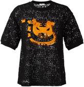 Au Jour Le Jour embroidered lace T-shirt