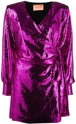 Andamane Carly sequin mini dress