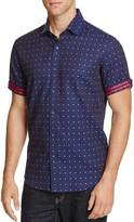 Robert Graham Modern Americana Drake Dot Slim Fit Button-Down Shirt