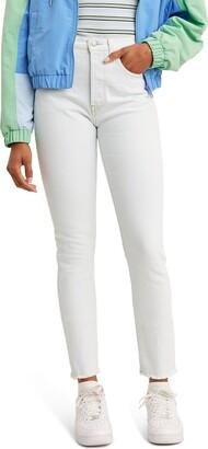 Levi's 501(R) High Waist Skinny Jeans