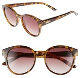 Le Specs Women's 'Paramount' 53Mm Sunglasses - Milky Tortoise