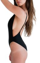 Imixshopcs One Piece Swimwear High Cut Monokini Backless Swimsuit Swim Bikini Women Monokini