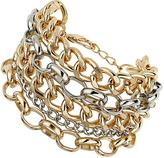 Topshop Multirow Curb Bracelet