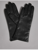 Autograph Cashmere Lined Leather Gloves
