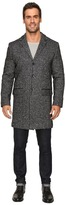 Calvin Klein Heather Wool 3/4 Length Overcoat