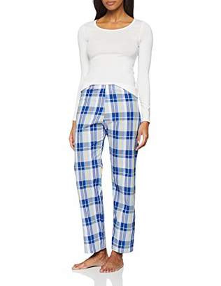 Maglev Essentials BDX015AM2 Pyjamas for Women,(Size:L), Pack of 2
