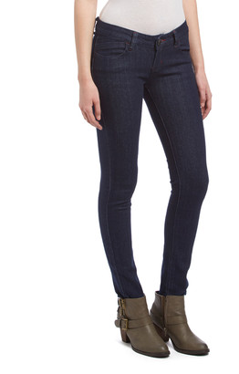Be Girl be-girl Women's Denim Pants and Jeans Dk.Indigo - Dark Indigo Pocket-Accent Skinny Jeans - Women