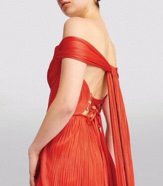 Maria Lucia Hohan Off-The-Shoulder Sharon Gown
