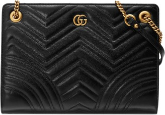 Gucci GG Marmont matelasse medium shoulder bag