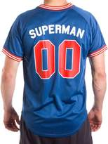 Superman 00 Mens' Mesh Jersey