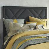 west elm Patterned Nailhead Headboard - Upholstered