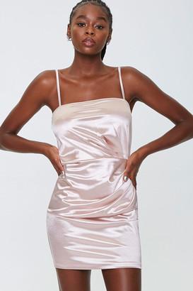 Forever 21 Satin Cami Mini Dress